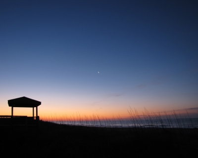 Twilight On The Beach