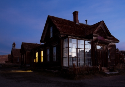 Ghosts Get Up Early In Bodie