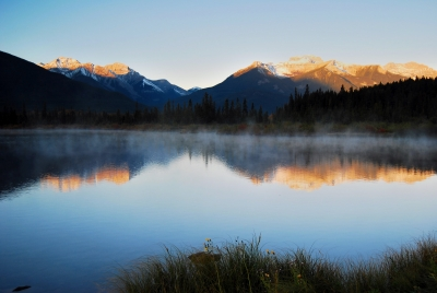 Banff Fall Morning