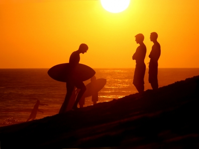 Sunset At The Wedge