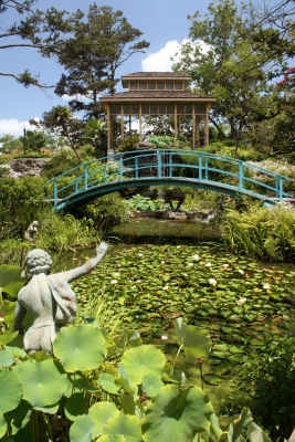 Oriental Garden At The Houmas House Plantation