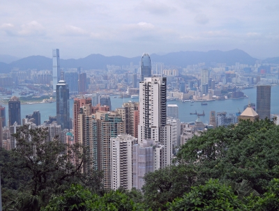 Hong Kong View From The Peak