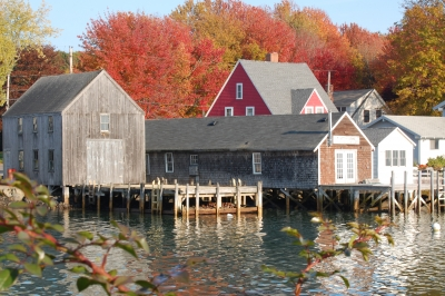 Fall In Cape Porpoise