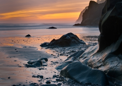 Ruby Beach Sunset