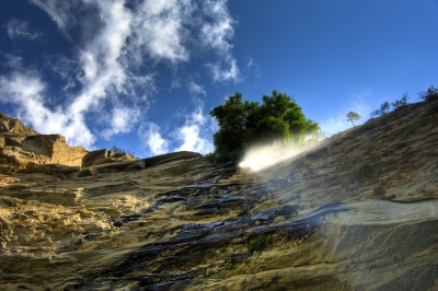 Life From A Waterfall