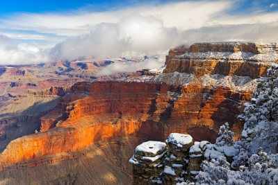 Grand Canyon Snow 2