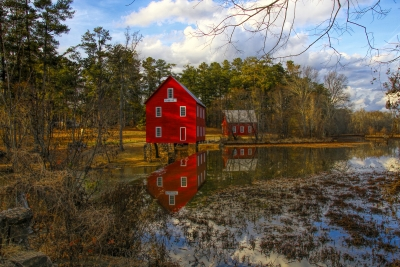 Reflection Of Starrs Mill