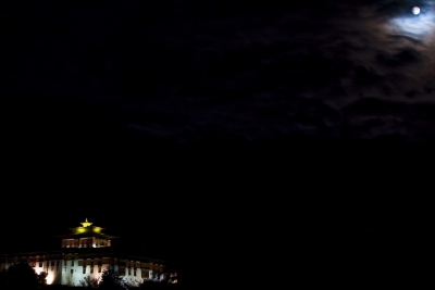 Bhutan In Moonlight