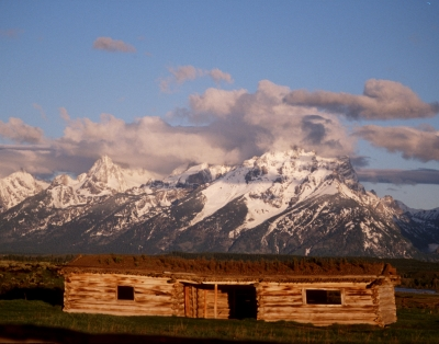A Cabin In The Tetons