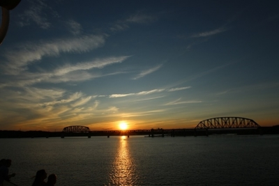 Sunset On The Ohio River