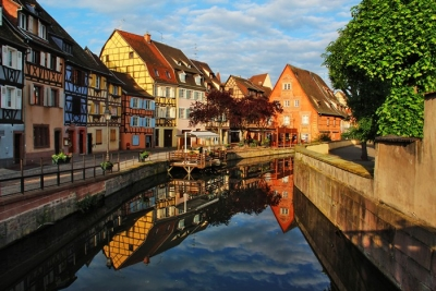 Morning Reflections In Colmar France