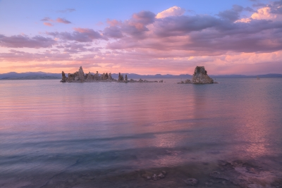 Mono Lake All Dressed Up In Pink