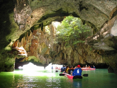 Kayaking The Caves Of Southern Thailand