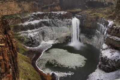 Palouse Falls Winter