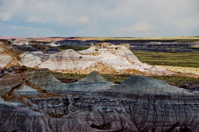 Erosion At Blue Mesa