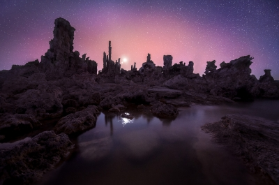 Nightfall Over Mono Lake