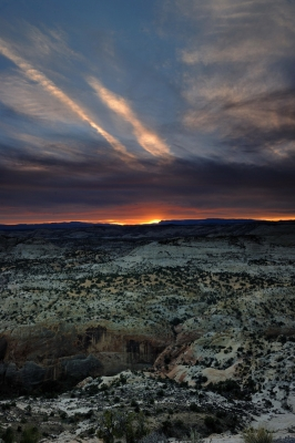 Escalante Canyon Overlook Sunset