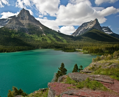 West End Of St. Mary Lake
