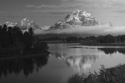 Grand Tetons From The Oxbow