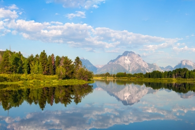 Reflection At Oxbow Bend
