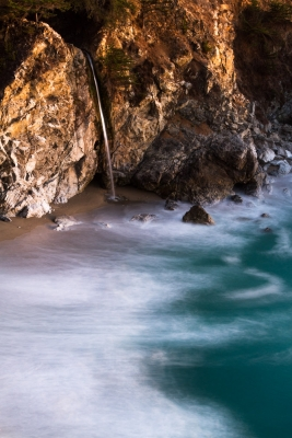 Mcway Falls After The Sun