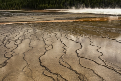 Abstract Of Grand Prismatic Spring