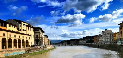 On The Bridge In Florence