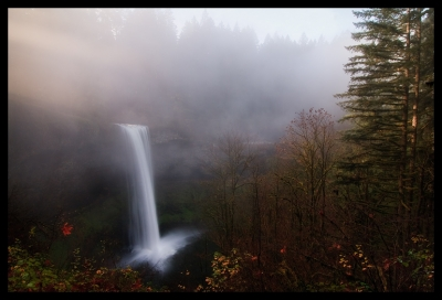 South Falls Through The Mist