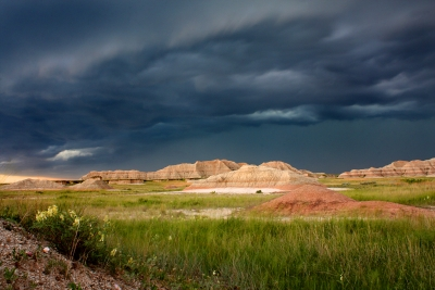 Badlands Thunderstorm