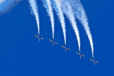 Blue Angels – High Loop In Formation