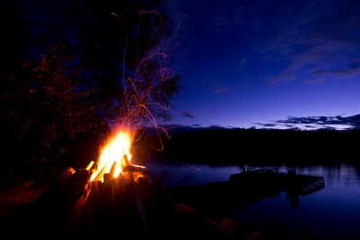 Eagle Lake Bonfire Two
