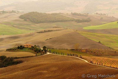 Farm Fields Of Tuscany