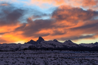 November Dawn In Teton Valley