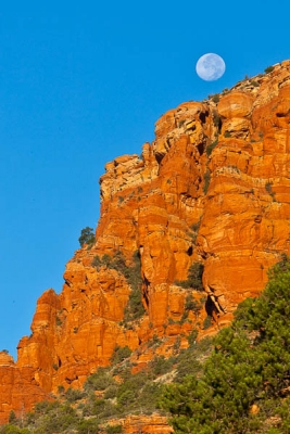 Setting Moon Sedona