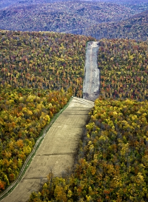 Tioga County Pipeline Construction Fall 2011