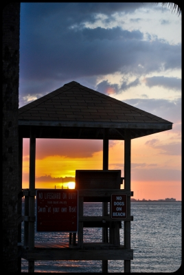 End Of The Day On Tampa Bay