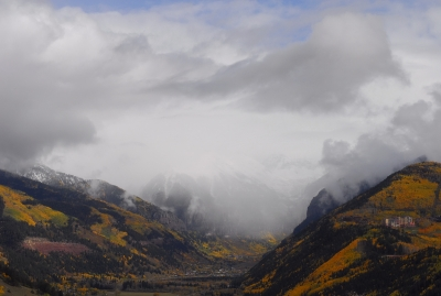 Telluride Storm Clearing