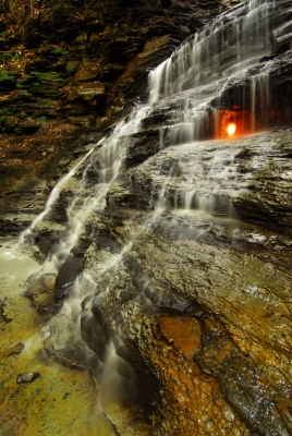 Eternal Flame Waterfalls