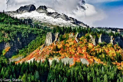 Fall Imto Winter    Tatoosh Range