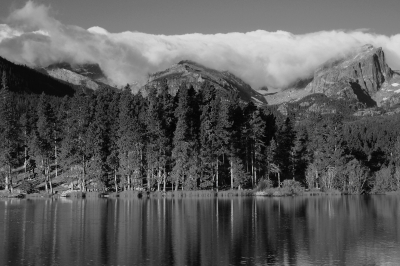 Reflections On Sprague Lake