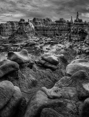 Storm Clouds, Goblin Valley
