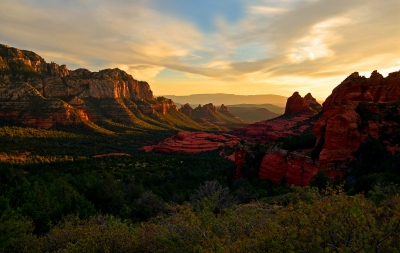 Sedona Sunset Vista