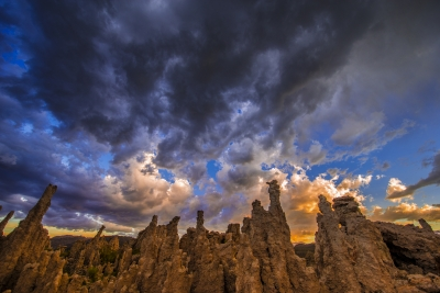 Clouds Over South Tufa
