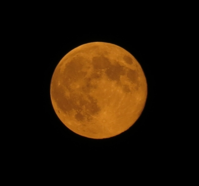 Supermoon Of August 10, 2014