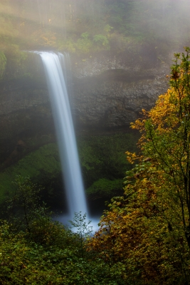 South Falls In The Fog