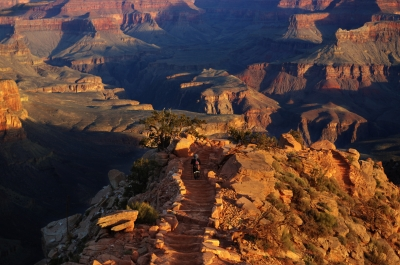 Trail To Heart Of Grand Canyon