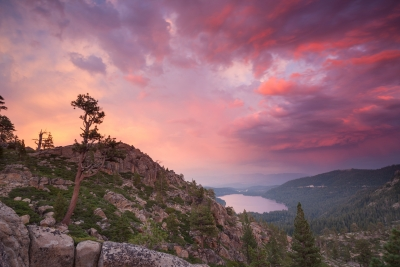 Donner Lake Sunset 21