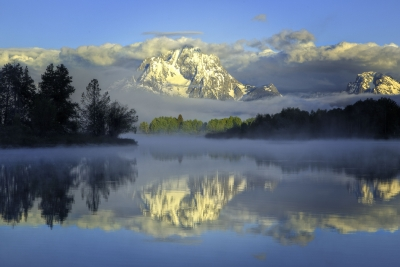 Spring Sunrise In Grand Tetons