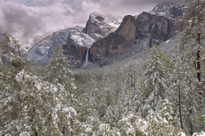 Yosemite Clearing Storm