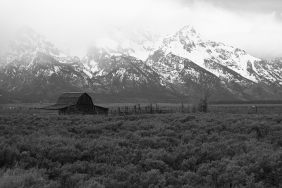 Barns Of The Tetons